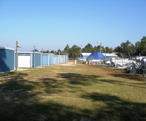 Shell Point Storage, Crawfordville storage, Wakulla County Storage, Boat Storage